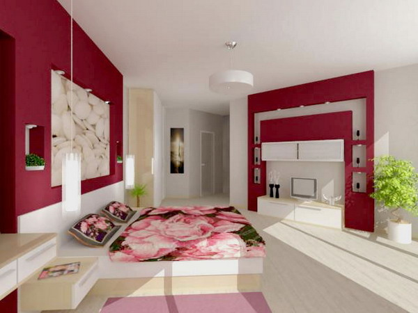 Fototapety - Image of beautiful bed rooms ...